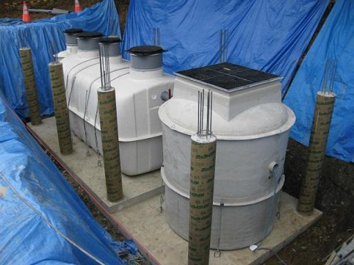 浄化槽設置状況